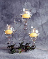 Where to find CANDELABRA, SILVER SCROLL CP in Richland
