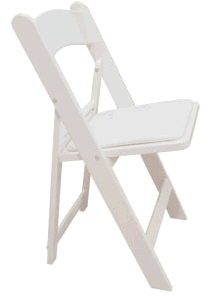 Where to find CHAIR, WHITE RESIN in Richland
