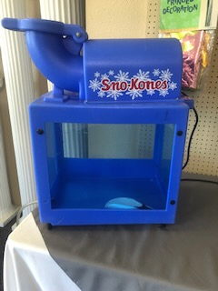 Where to find SNOW CONE MACHINE BLUE  3 in Richland